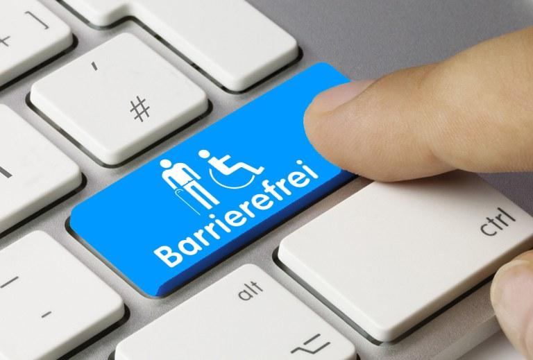 In diesem Bereich finden Sie Informationen für Ihren barrierefreien Besuch unserer Website.