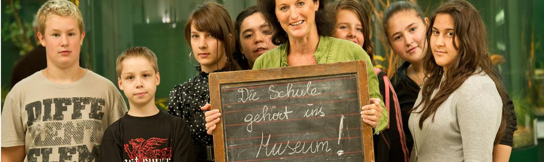 Schule ins Museum