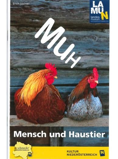 "Brochure special exhibition ""MuH - Mensch und Haustier"""